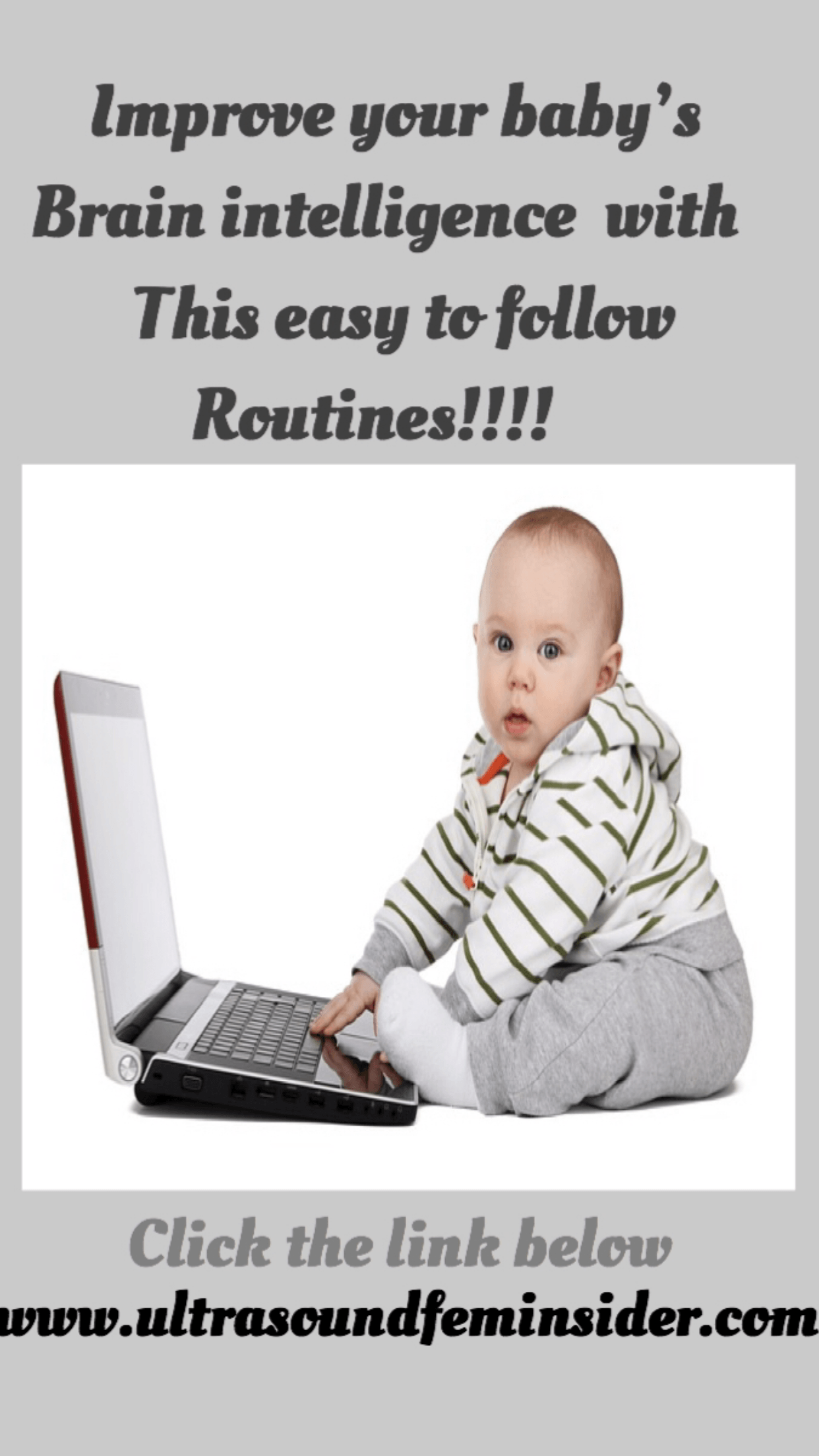 Daily routines to improve and develop your baby's intelligence